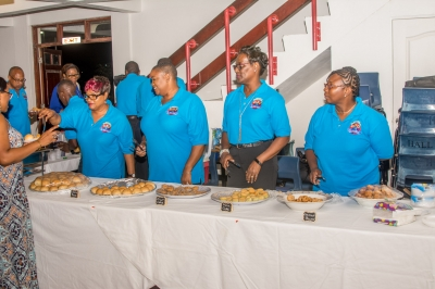 Planning committee ready to serve refreshment
